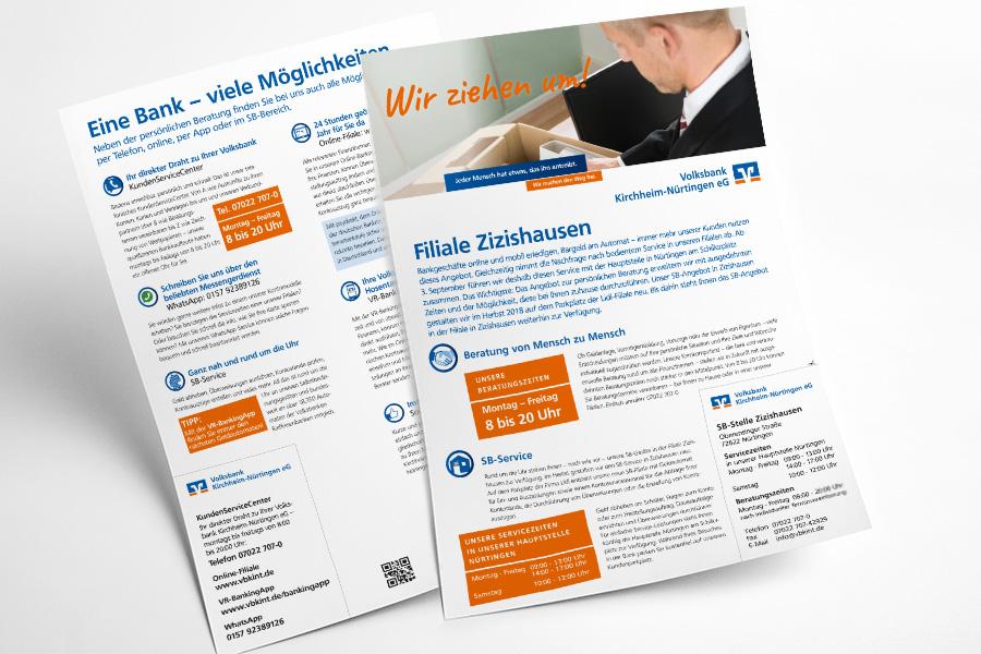 Kundeninformation-Filiale